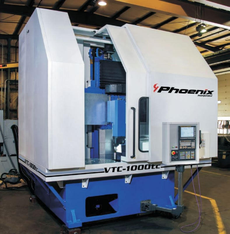 vertical turning center vtc 1000tc