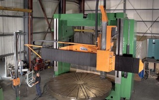 Remanufactured Farrell Vertical Boring Mill 14 ft