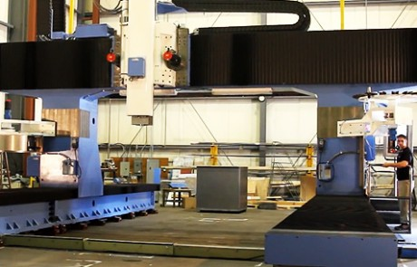 5 axis large gantry mill