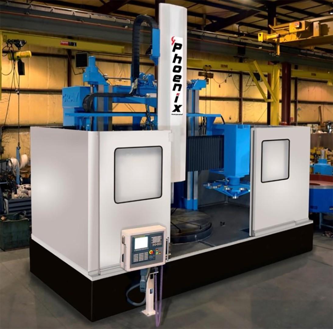 Remanufactured vertical boring machine 84 inch